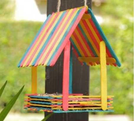 Popsicle-Stick-Bird-Feeder